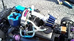 USED/UNWANTED NITRO R/C AND/OR PARTS