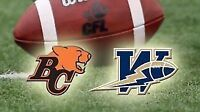 ToNiGhT-Winnipeg Blue Bombers vs. BC Lions I. Group Field 7/30