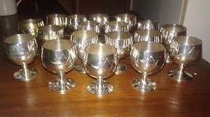 Set of 18 handmade Kiddush Cups West Island Greater Montréal image 1