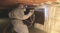 Spray Foam Insulation.  up to 10% off in written estimates.