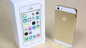 iPhone 5S 16GB Gold Rogers - FLAWLESS 10/10 w/ box charger