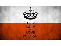 Learn POLISH LANGUAGE! Private or for small groups