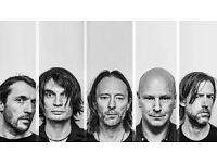 Radiohead Concert Ticket 4th July at Old Trafford Cricket Ground, Manchester