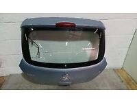 VAUXHALL CORSA D TAILGATE IN BLUE USED. 3 door 2006 07 08 09 10 11 12