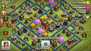 Clash of clans account start off huge!!