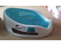 Angel Care bath support in blue