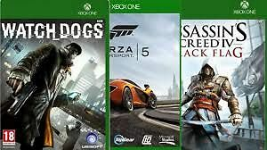 Xbox One  AND  sony ps4 GAMES--MANY GAMES TO CHOOSE FROM Edmonton Edmonton Area image 1