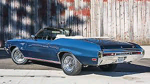 Projet 1970 buick gs 455 convertible rare
