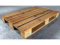 Wooden pallets Euro Epal solid clean grade pallet for wood furniture making burning can deliver.