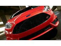 FORD FIESTA ST GRILLE COMPLETE WITH ST BADGE GENUINE FACELIFT