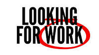 Looking for full-time work..