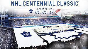 2017 Scotiabank NHL Centennial Classic: Red Wings V Maple Leafs