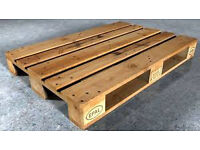 Great deal wooden solid wood Euro Epal pallet for sale can also deliver.