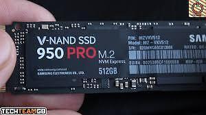 1 Samsung SSD 950 Pro 512gb M.2 NVMe-Super Low Price!