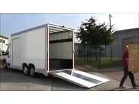 RELIABLE MAN AND VAN, WE TAKE URGENT JOBS, ESSEX REMOVALS, ALL AREAS COVERED. 3.5, 5.5 TON VANS.