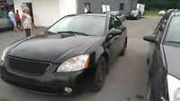 2003 Nissan Altima black Sedan