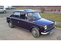 Classic Austin 1300 - simple restoration project