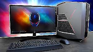 Alienware Gaming PC with 2 x RX580 Crossfire and i7-8700K