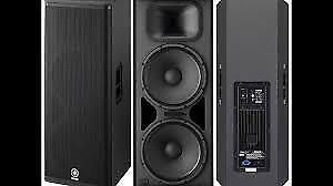 Yamaha DSR215 P.A . Speakers