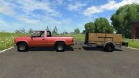 Truck for hire, renovations, lawncare and yard cleanups