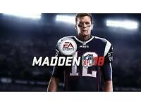 Madden 18 - PS4 - Brand New - £40