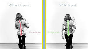 Hippy Chick Hip Seat - The Back Saving Baby Carrier Kitchener / Waterloo Kitchener Area image 3