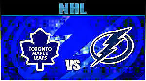 Maple Leafs vs Tampa Bay Lightning!....Tuesday Night at ACC!