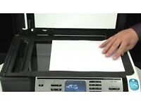 HP OFFICE JET 5610 ALL IN ONE-PRINTER SCANNER PHOTOCOPIER AND FAX MACHINE.