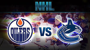 Oilers vs Vancouver Canucks Dec 31 Row 3 New Years