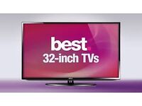 """32""""TV , selling it for£80,price is negotiable ,need quick sale."""