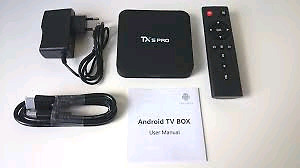 Tx5 pro android tv box
