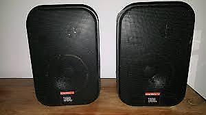 JBL CONTROL 1 Speakers, Heavy duty sturdy compact design .......