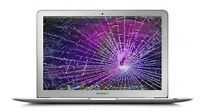 we fix broken screens for macbook and laptops