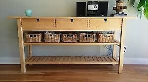 Ikea Norden Kitchen Console Buffet Table In Ely Cambridgeshire