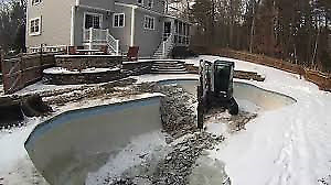Cheap Swimming Pool Fill-in / Demolition