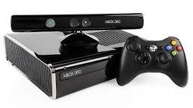 X Box 360 (250G) + Kinect + 19 games
