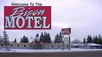 Hotel / Motel Manager for Bison Motel in Wainwright, Alberta