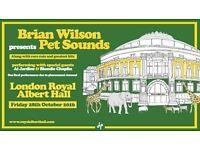 Brian Wilson, Pet Sounds, Royal Albert Hall, London, 3 Tickets, £65 Face Value