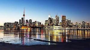 1 return flight ticket Dublin - Toronto 14.FEB