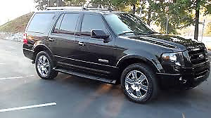2007 Ford Expedition Limited ,  Hybrid Propane LPG and Gas.