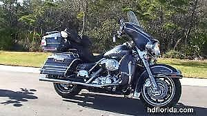 Electraglide!!!  Style and comfort for those long road trips