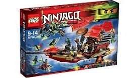 LEGO 70738 Final Flight of Destiny's Bounty NINJAGO New