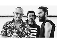 Thirty seconds to Mars 2 standing tickets Saturday 24th March Manchester arena