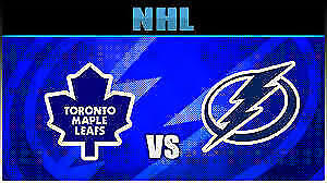 Toronto Maple Leafs vs Tampa Bay Lightning......2 Tickets!