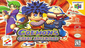 Looking for Goemons Great Adventure Game & Box for nintendo 64