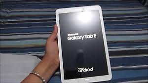 """Tablet Samsung E 8""""? with Free Accessories! I Never used it."""