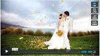 Wedding videographer offering 4k or HD