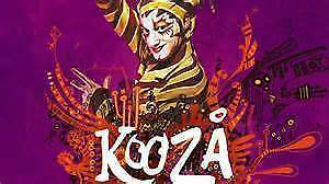 2 x KOOZA Tickets Row AA Section 102 Saturday May 27th $185 each Bindoon Chittering Area Preview