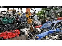 SCRAP cars and vans bought for cash SAME DAY COLLECTION