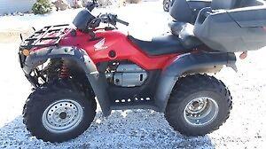 2007 honda 400 four trax 4x4